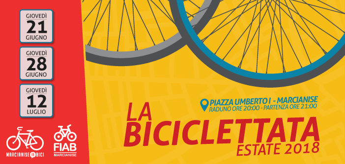 Biciclettate 2018 a Marcianise